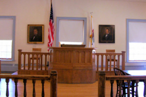 Lincoln Courtroom